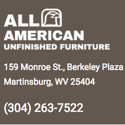 All American Unfinished Furniture