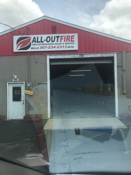 All out fire extinguishers sales & service